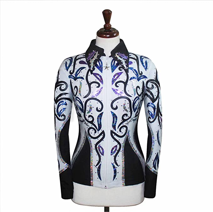 Amazon.com: Rodeo Western Showmanship - Chaqueta de ...