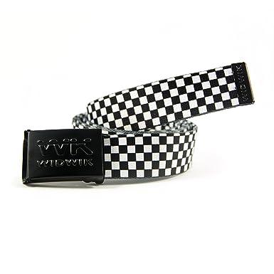 meilleur site web fdb10 c19ec Ceinture noire et blanche à carreaux, l'une des ceintures ...