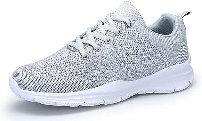 dafenp Unisex para Hombre y Mujer Zapatillas de Gimnasia ...