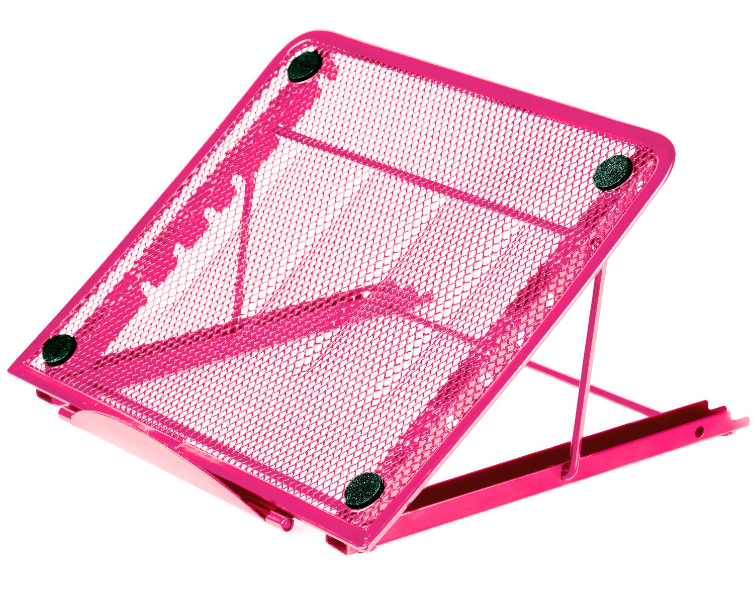 Halter Mesh Ventilated Adjustable Laptop Stand for Laptop/Notebook/iPad/Tablet and more - Green