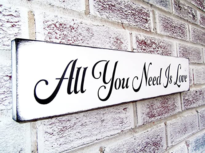 Amazon.com: The Beatles, Romantic wall art, All You Need Is Love ...