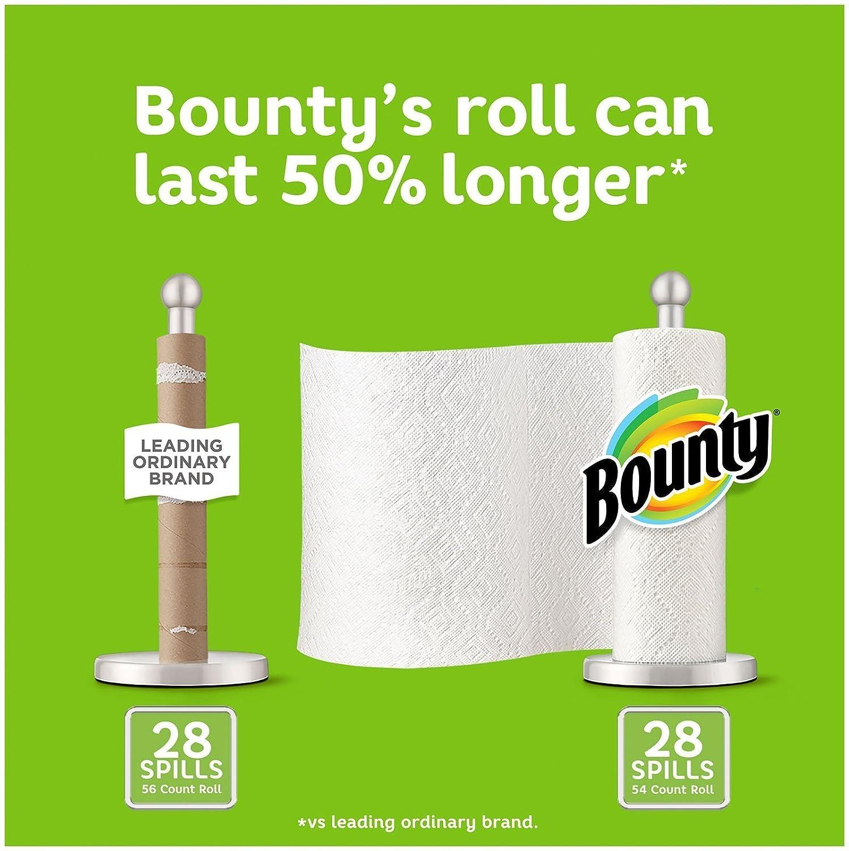 Bounty Toallas de papel, color blanco, 15 rollos regulares: Amazon.es: Industria, empresas y ciencia