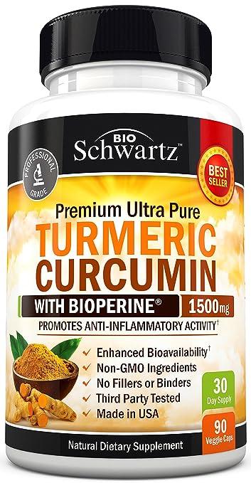 Bio Schwartz Turmeric Curcumin