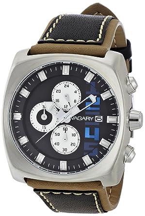 c336334765 Amazon | [VAGARY]バガリー 腕時計 BOARDRIDER SQUARE CHRONOGRAPH BR2 ...