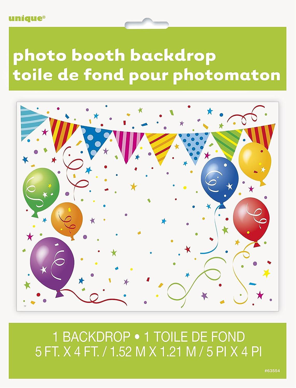 Party photo booth Backdrop Unique Party 63554