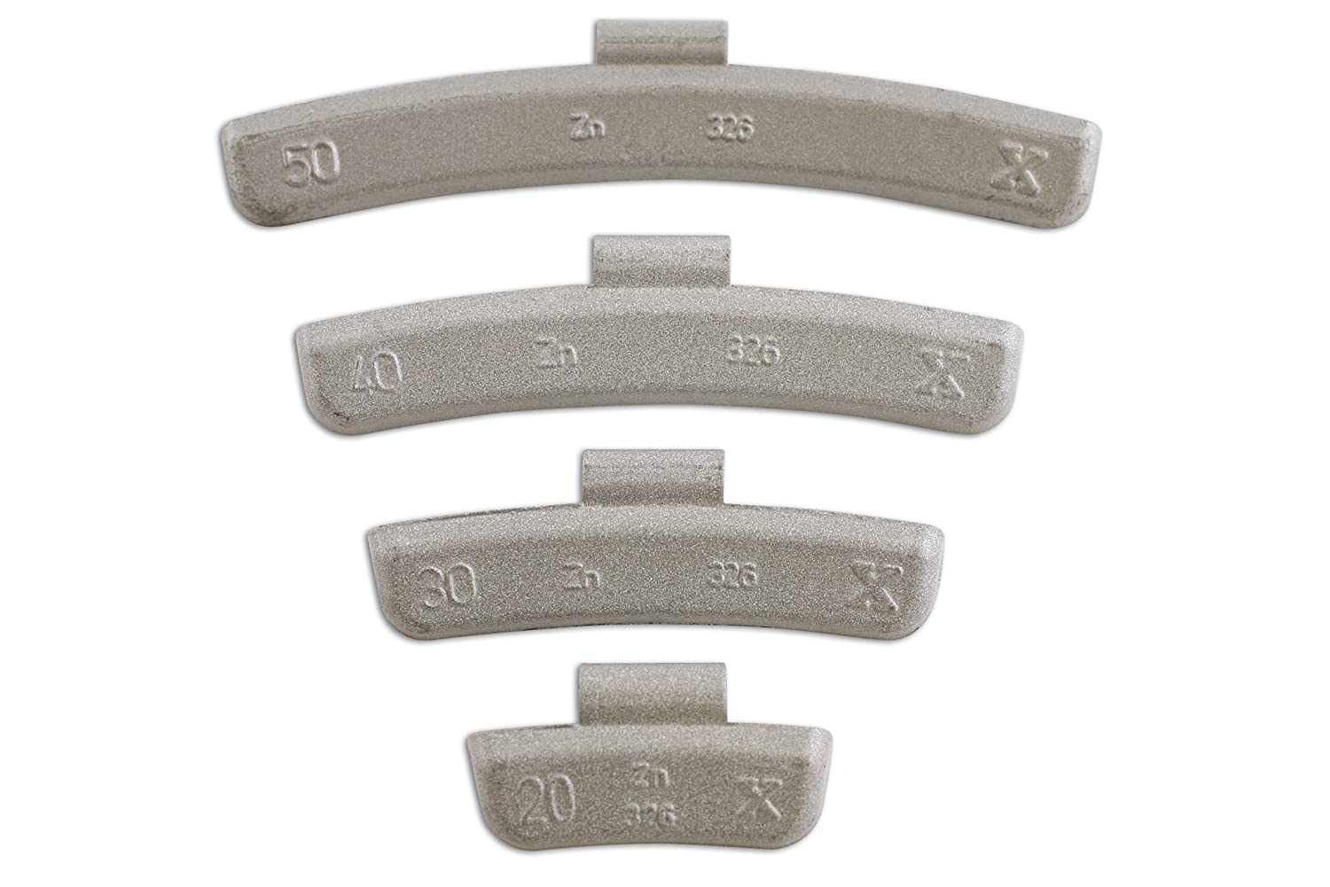 Connect 32855 15g Wheel Weights for Alloy Wheels (Box of 100) The Tool Connection Ltd.