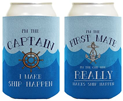 Image Unavailable & Amazon.com: Funny Boating Gifts Captain First Mate Ship Happen ...