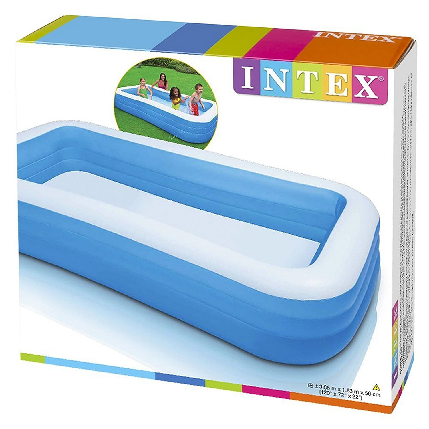 amazoncom intex swim center family inflatable pool toys games