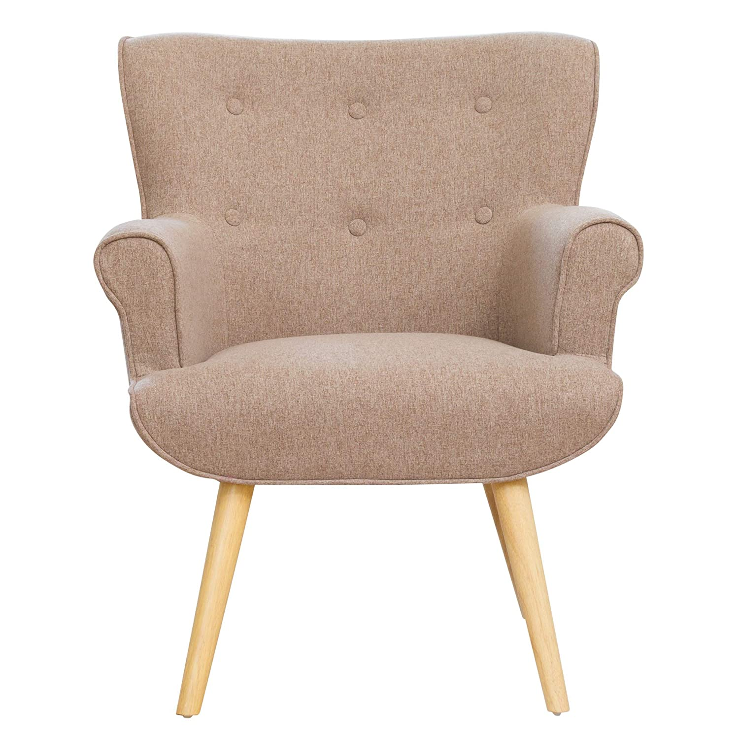 Sofa Collection Yvelines accent chair (Light Grey): Amazon.co.uk ...