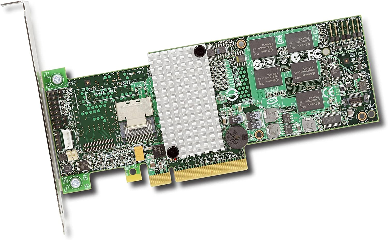 Pci Express X8-300mbps Per Port Mini-Sas Lsi Logic Megaraid 9260-4i 4-Port Sas Raid Controller 512mb Ddr2 4 X Sff-8087