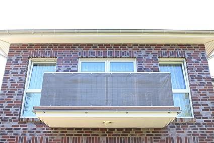 Antracita Smart Deko Balcones Wind Protector Para Balcones - Proteccion-balcones