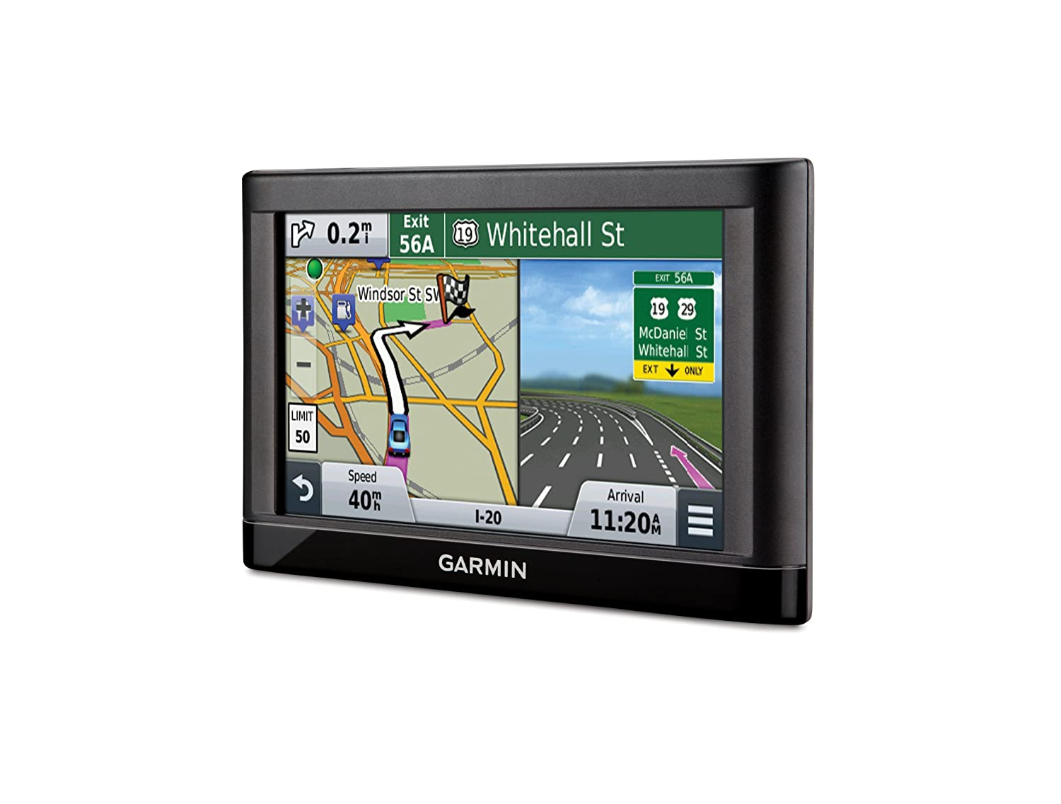 Amazon.com: Garmin nüvi 55 GPS Navigators System with Spoken Turn-By-Turn  Directions, Preloaded Maps and Speed Limit Displays (Lower 49 U.S. States):  Cell ...