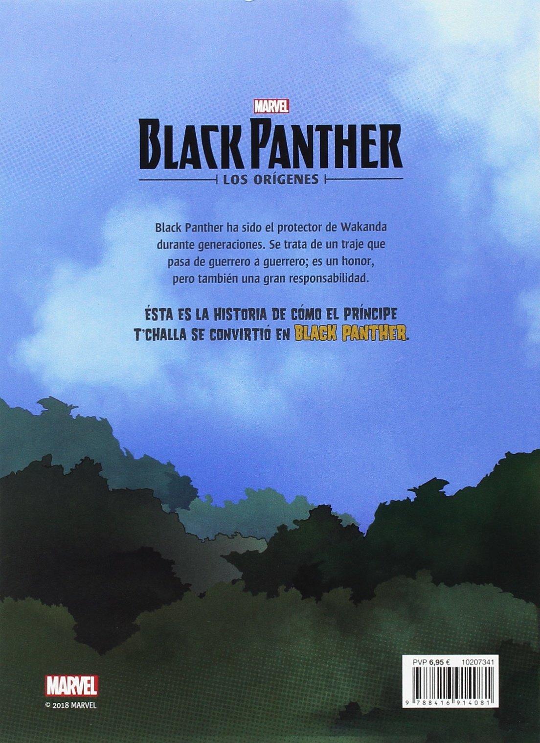 Black Panther. Los or�genes. La leyenda de Black Panther ...