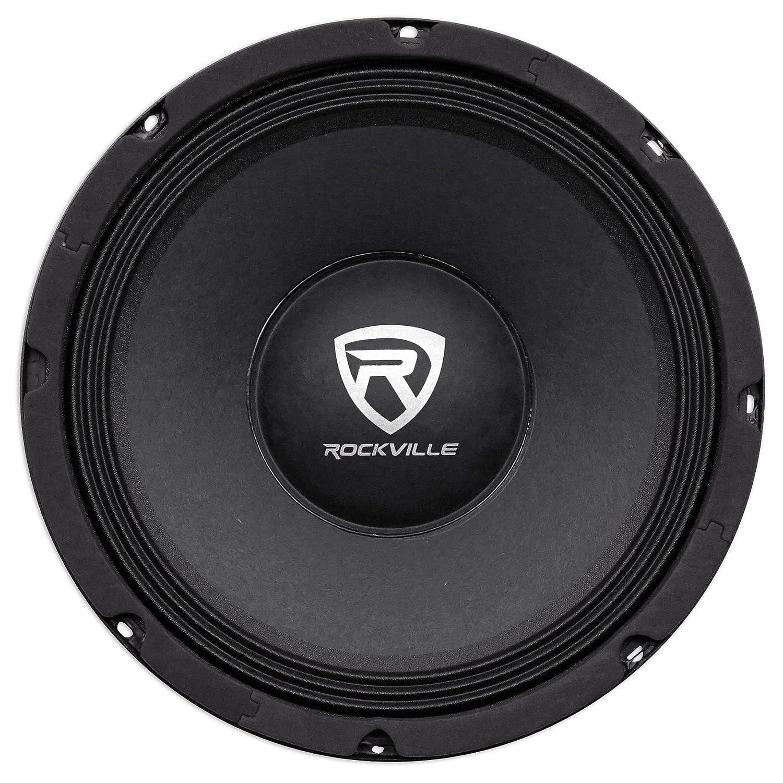 Rockville RM68PRO 6.5-Inch 8 Ohm SPL Mid-Bass Midrange Car Speaker 105dB 200w-Set of 1 Audiosavings