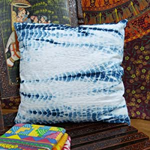 "Home Decor Throw Pillow Tie Dye Print Decorative Cushion Cover Cotton Case 16"" /ITEM#HGO-IW 73ET248988"