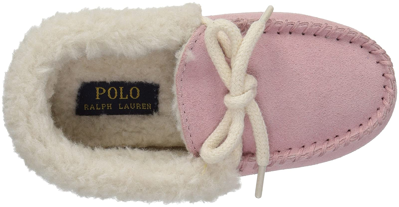 Polo Ralph Lauren Kids Girls' Allister Slipper RF100516T - 8