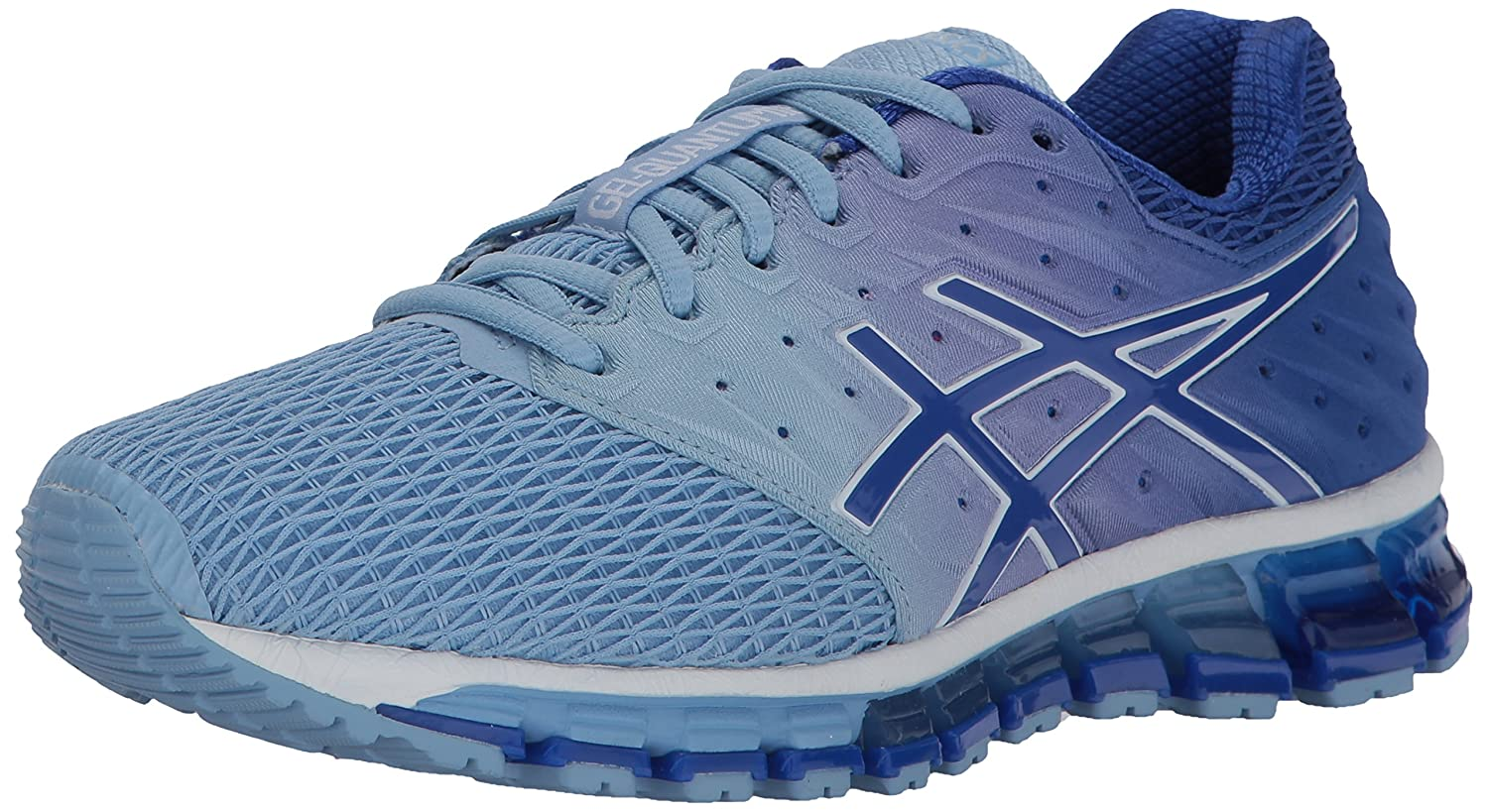 ASICS Women's Gel-Quantum 180 2 Running Shoe B01MQGFOB8 9.5 B(M) US|Airy Blue/Blue Purple/White