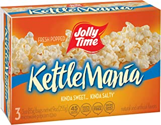 product image for JOLLY TIME KettleMania Microwave Popcorn Pack of 12
