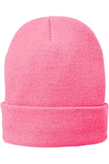 5011a7b1b46 Port   Company Unisex-adult Fleece-Lined Knit Cap CP90L -Athletic ...