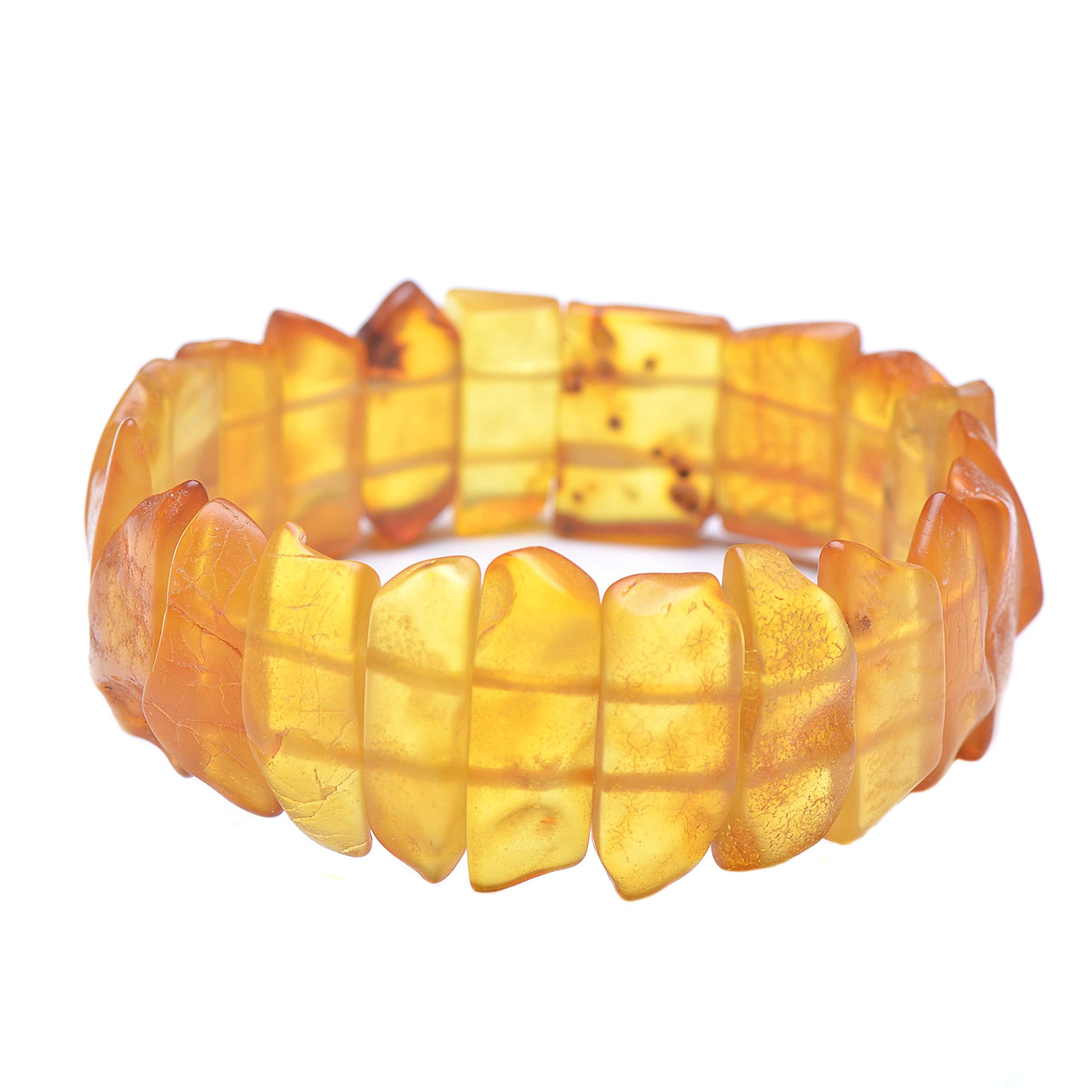 Amber Bracelet - Unique Amber Bracelet - Handmade Amber Jewelry - Baltic Amber Bracelet by Genuine Amber (Image #2)