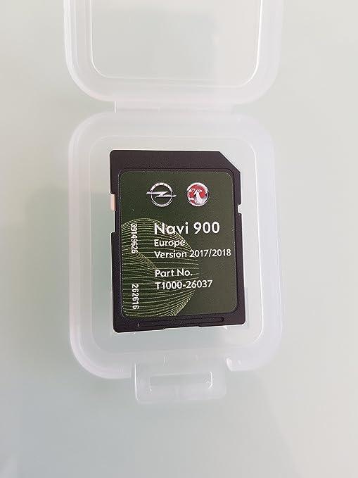Tarjeta SD GPS Opel NAVI600 NAVI900 Europe 2017 2018: Amazon.es: Electrónica