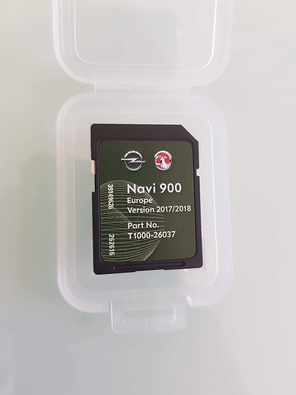 SD Karte GPS Opel NAVI600 NAVI900 Europe 2017 2018 Here