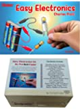 ProTechTrader Make: Easy Electronics Kit Bundle - Includes Paperback HandBook by Charles Platt and Electronic Components Pack by
