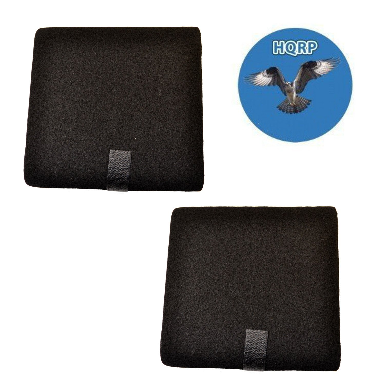HQRP 2 - Pack odor-reducingプレフィルタfor Kenmore /シアーズ83155、83120交換+ HQRPコースター B01N1FRFQA