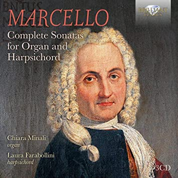Sonate Per Organo E Clavicembalo : Marcello, B.: Amazon.it: Musica