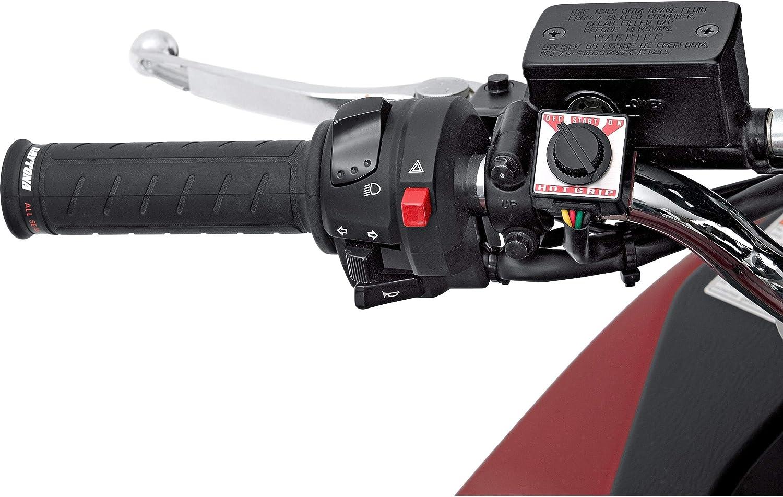 Daytona Motorradgriffe Heizgriffe Für 22mm Zweistufig Unisex Multipurpose Winter Gummi Schwarz Auto