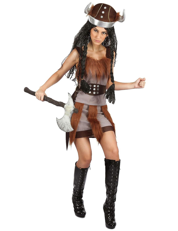 Generique - Disfraz Vikingo para Mujer S: Amazon.es: Juguetes y juegos