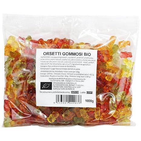 Delizioso Shop - Gummibärchen Bio - Verschiedene Fruchtaromen - Bio ...