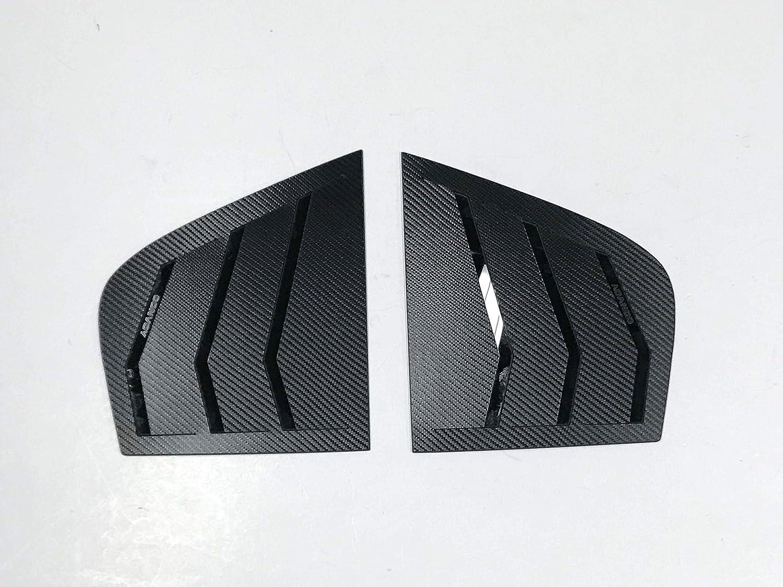 Automotiveapple Rear C Pillar Carbon Wrapping Plate for 2017 2019 Kia Stinger