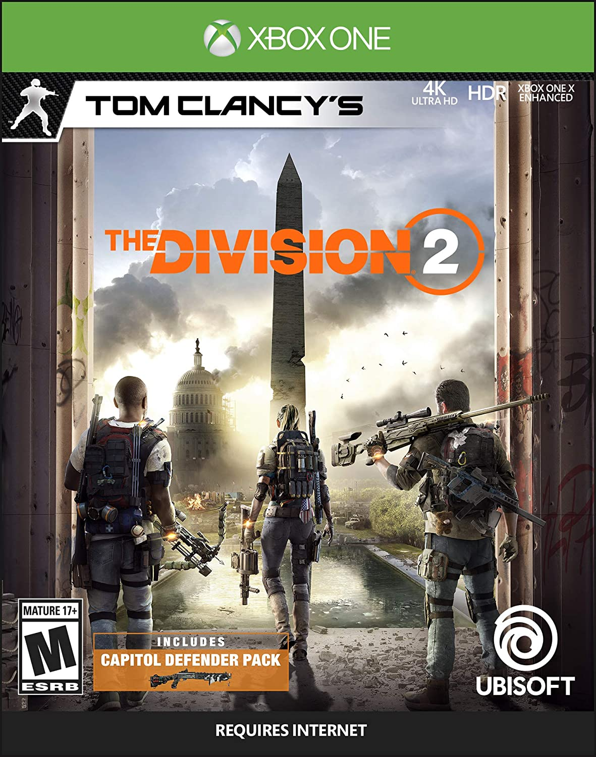 Amazon com: Tom Clancy's The Division 2 - Xbox One [Digital