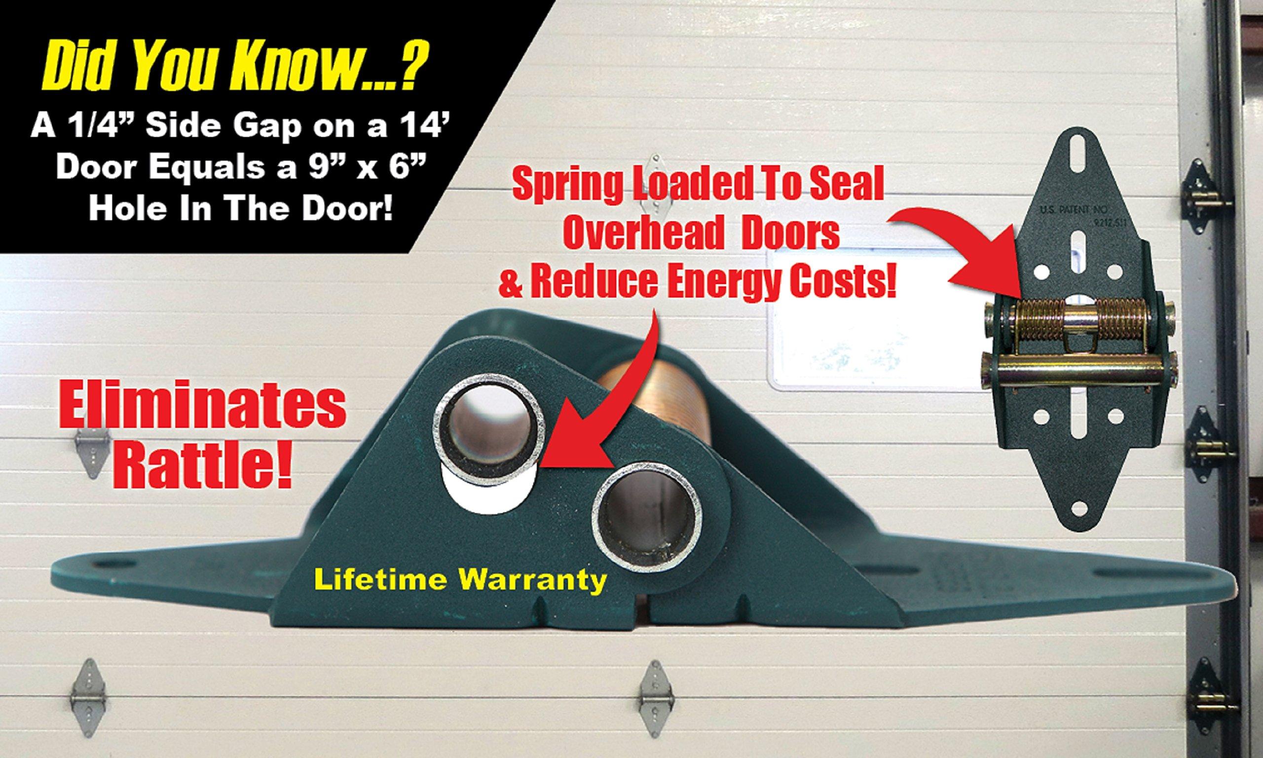 Energy Saving Garage Door Hinge, Residential Set, 4 Panel Door by Green Hinge (Image #9)