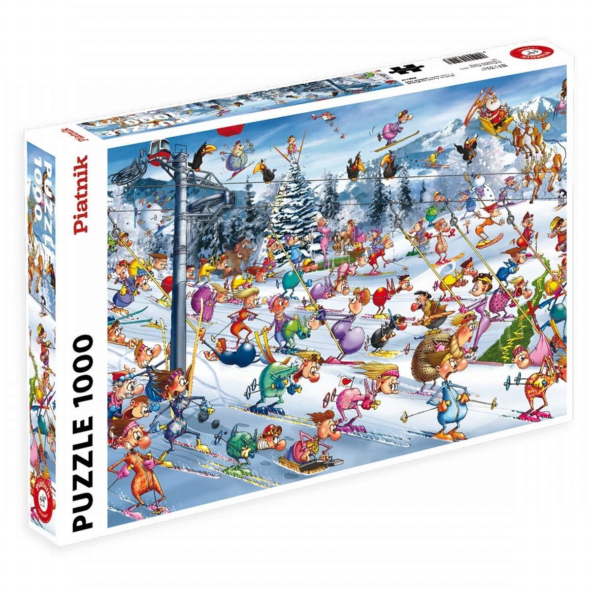 Piatnik 00 5351 Ruyer Skiing Puzzle by Piatnik