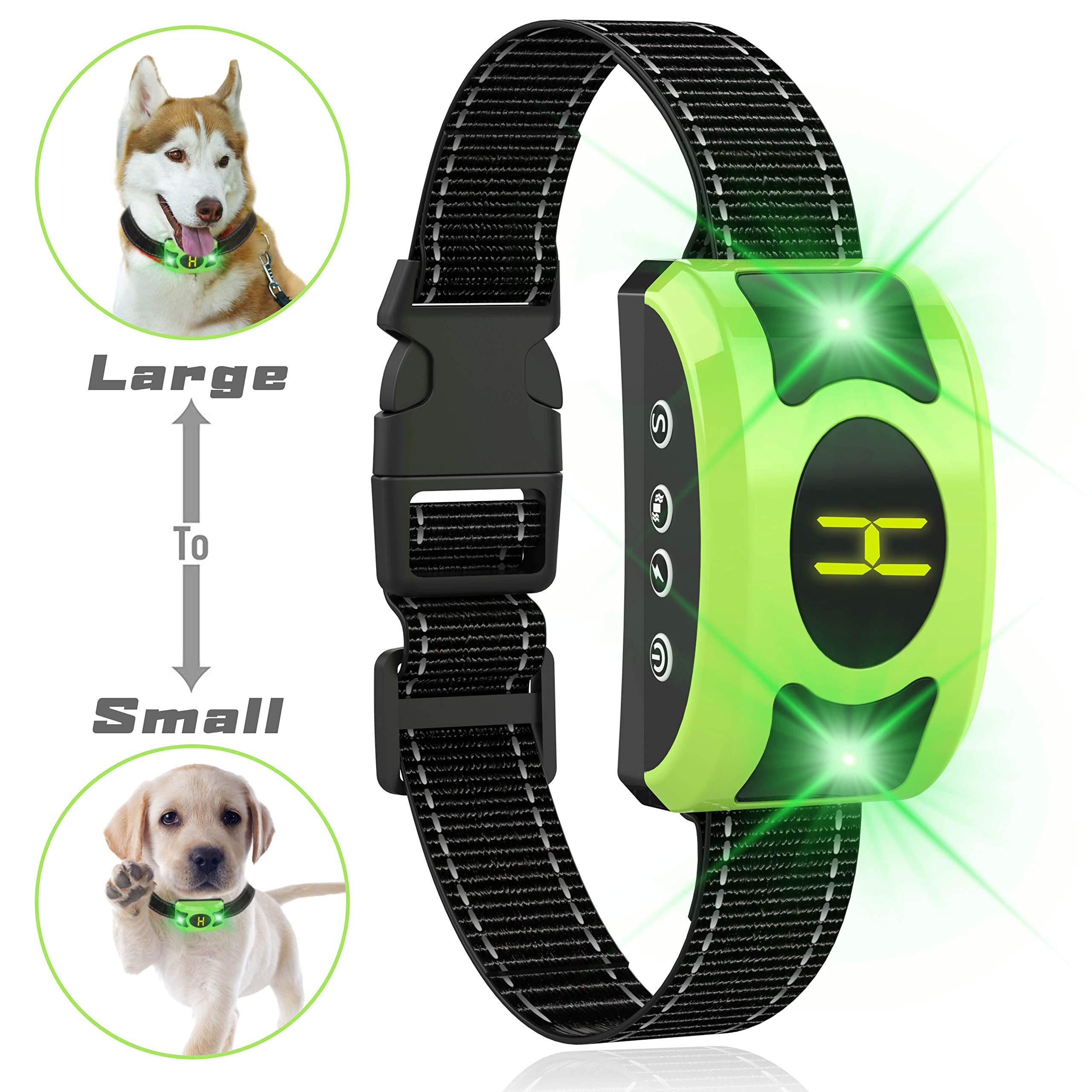 ValoinUS Dog Bark Collar Adjustable Sensitivity and Intensity Levels-Dual Anti-Barking Modes-Rechargeable/Rainproof -No Barking Control Dog Shock Collar for Small Medium Large Dog by ValoinUS