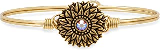 product image for Luca + Danni | Sunflower Bangle Bracelet For Women Made in USA