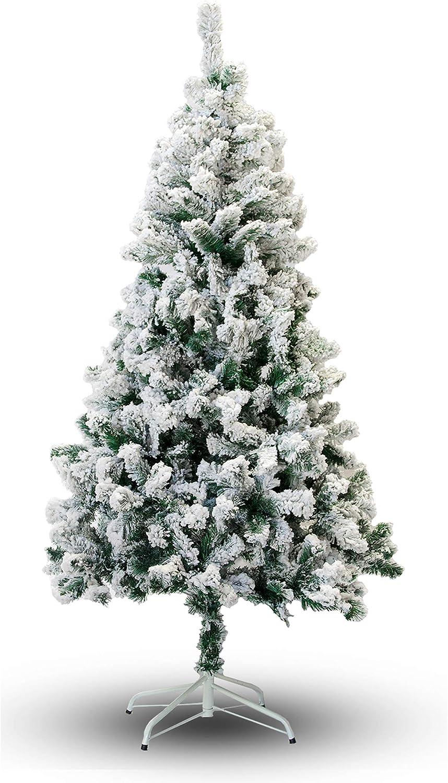 Perfect Holiday Christmas Tree, 4-Feet, Flocked Snow