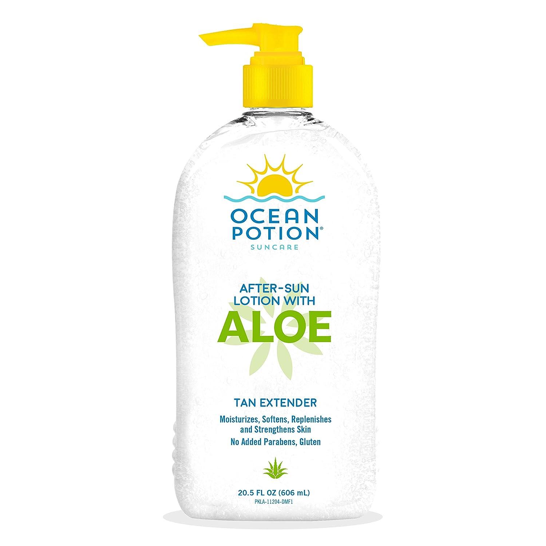 Ocean Potion Aloe Lotion Moisturizing 20.5oz Pump (3 Pack)