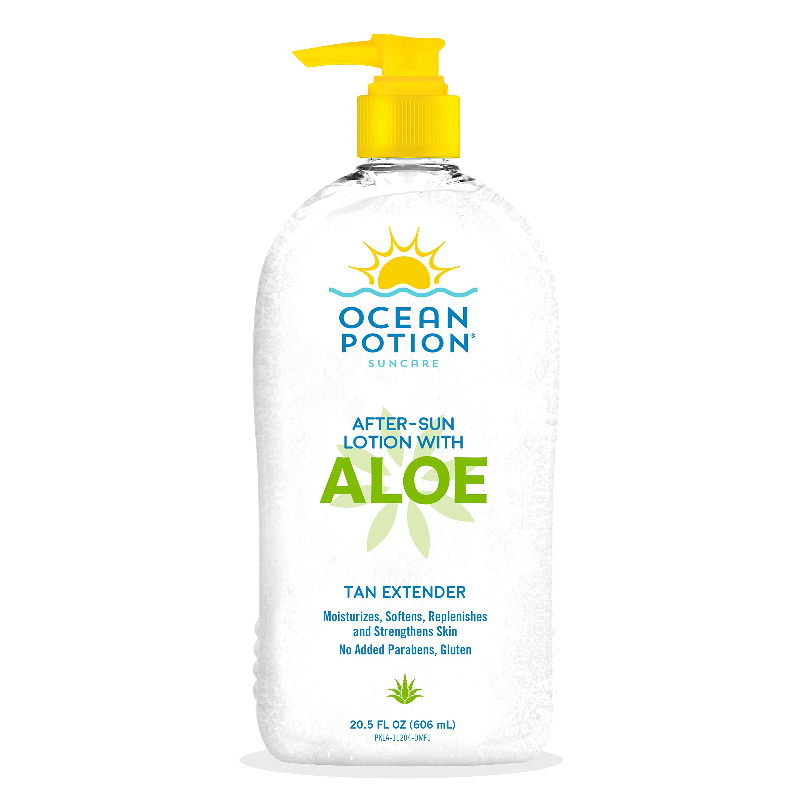 Ocean Potion Aloe Lotion Moisturizing 20.5oz Pump (3 Pack)