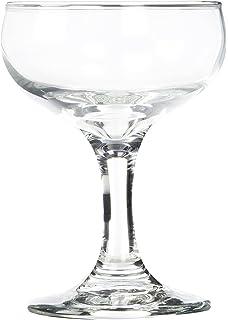 d80139eaa0e Amazon.com: Libbey Glassware 3773 Embassy Champagne Glass, 5 oz.-12 ...