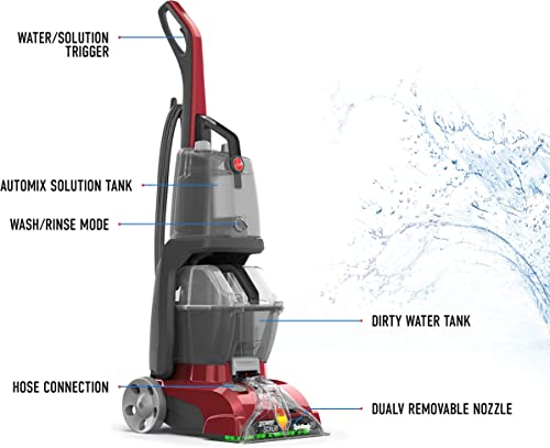 Main features of the Hoover Power Scrub Deluxe