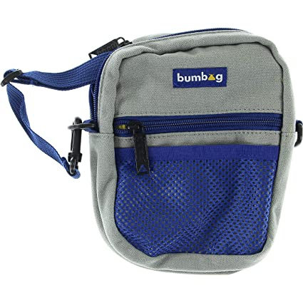 Amazon.com: BUMBAG - Bolso bandolera compacto, color gris ...