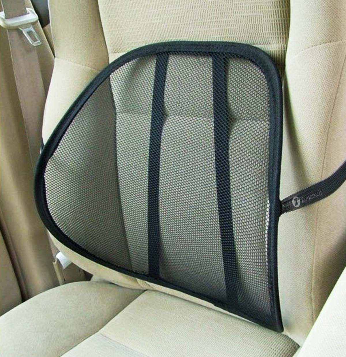 cool vent cushion mesh back lumbar support car office chair truck seat