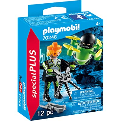 Playmobil Agnet with Drone 70248 Figures Plus Set: Toys & Games [5Bkhe0502963]