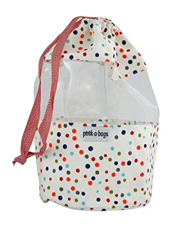 Amazon.com: PEEK-A-BAGS Toy Storage Bag For Organizing Kid's Toys ...