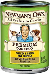 Newman's Own Chicken and Brown Rice Formula for Dogs, 12.7 Ounce (Pack of 12)