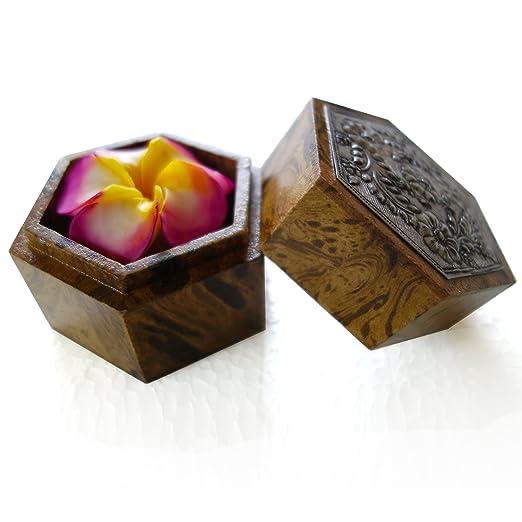 """Amazon.com: jittasil Thai hand-carved Jabón Flor, 4"""" ..."""