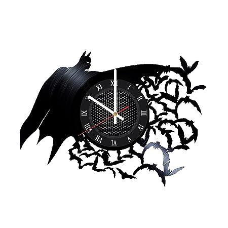 Ma Va Batman Arkham Asylum Vinyl Record Wall Clock Gift for Fans Great Idea Home Decor DC Comics Vintage Decoration – Buy Gift for Everybody